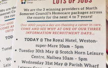 Recruitment information days leaflet
