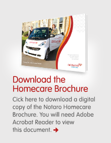 Download the Notaro Homecare Brochure